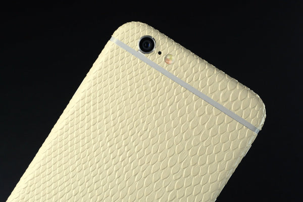 iPhone 6 BEIGE MAMBA SNAKE Skin Wrap Sticker Cover Decal Protector by EasySkinz