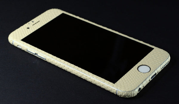 iPhone 6S PLUS BEIGE MAMBA SNAKE Skin Wrap Sticker Cover Decal Protector by EasySkinz