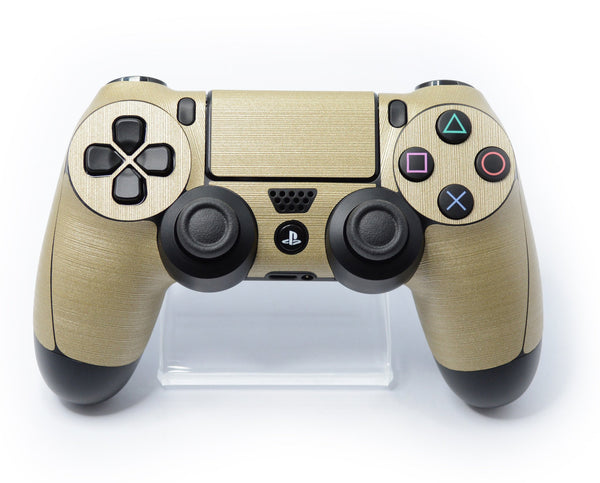 brushed champagne gold skin ps4 controller