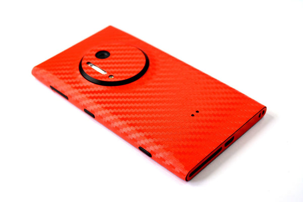 Nokia Lumia 1020 Red Carbon Sticker