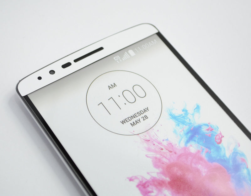 LG G3 MATT Matte White Skin Sticker Wrap Cover Decal Protector