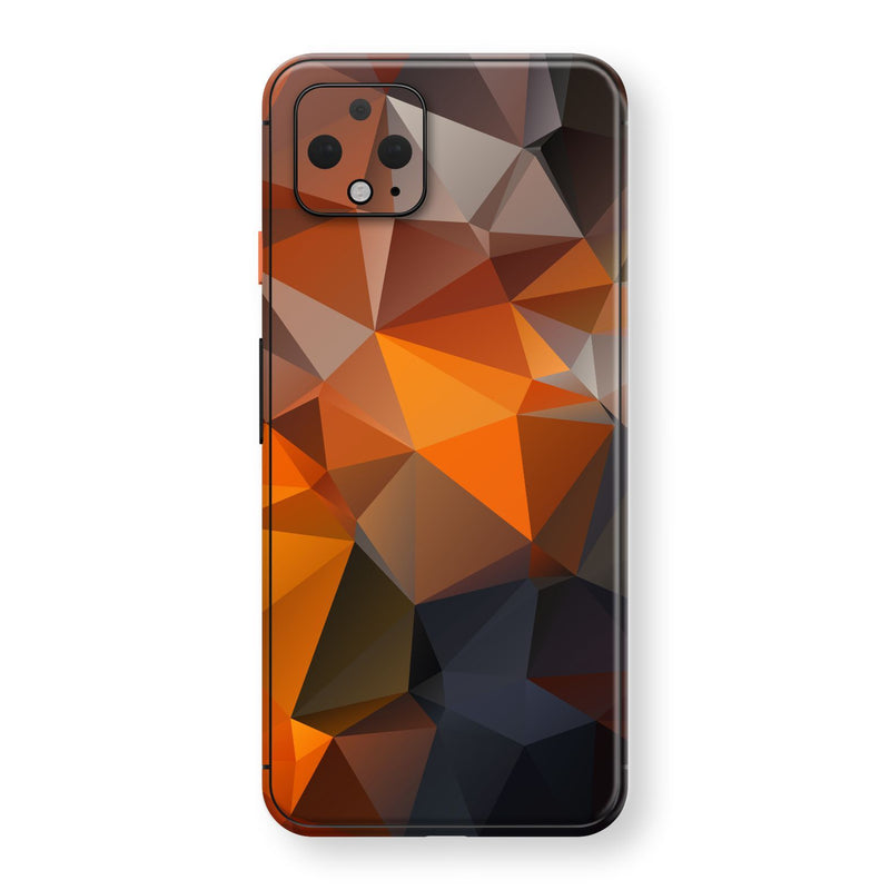 Google Pixel 4 XL Print Custom SIGNATURE Faceted TRIANGLES Skin, Wrap, Decal, Protector, Cover by EasySkinz | EasySkinz.com