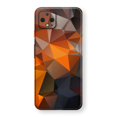 Google Pixel 4 Print Custom SIGNATURE Faceted TRIANGLES Skin, Wrap, Decal, Protector, Cover by EasySkinz | EasySkinz.com