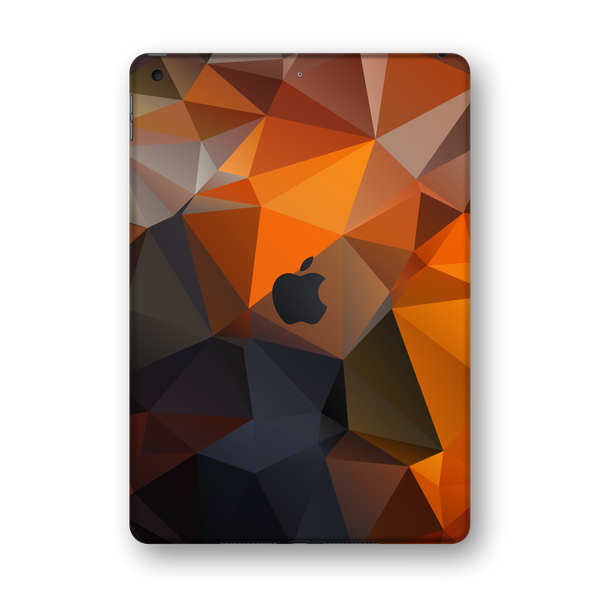 "iPad 10.2"" (7th Gen, 2019) SIGNATURE Faceted TRIANGLES Skin Wrap Sticker Decal Cover Protector by EasySkinz"