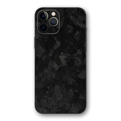 iPhone 12 Pro MAX 3D Textured FORGED CARBON Fibre Fiber Skin, Wrap, Decal, Protector, Cover by EasySkinz | EasySkinz.com