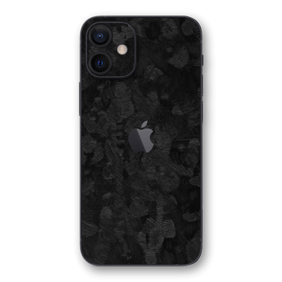 iPhone 12 mini 3D Textured FORGED CARBON Fibre Fiber Skin, Wrap, Decal, Protector, Cover by EasySkinz | EasySkinz.com