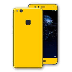 Huawei P10 LITE Golden Yellow Glossy Gloss Finish Skin, Decal, Wrap, Protector, Cover by EasySkinz | EasySkinz.com