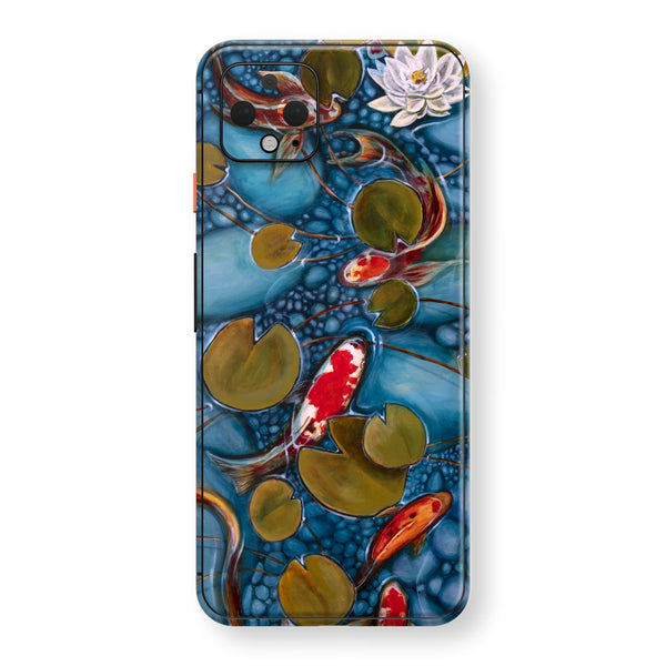 Google Pixel 4 XL Print Custom SIGNATURE GOLDFISH Oil Painting Skin, Wrap, Decal, Protector, Cover by EasySkinz | EasySkinz.com