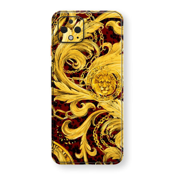 Google Pixel 4 XL Print Custom SIGNATURE GOLD CHAINS Skin, Wrap, Decal, Protector, Cover by EasySkinz | EasySkinz.com