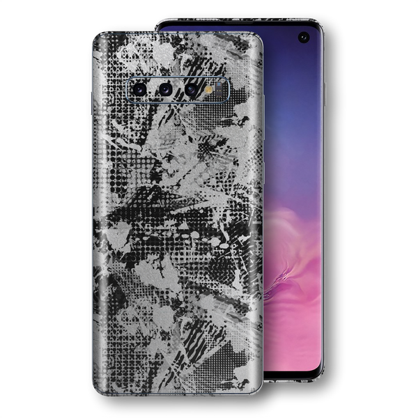 Samsung Galaxy S10 Signature Abstract Grunge Skin, Wrap, Decal, Protector, Cover by EasySkinz | EasySkinz.com