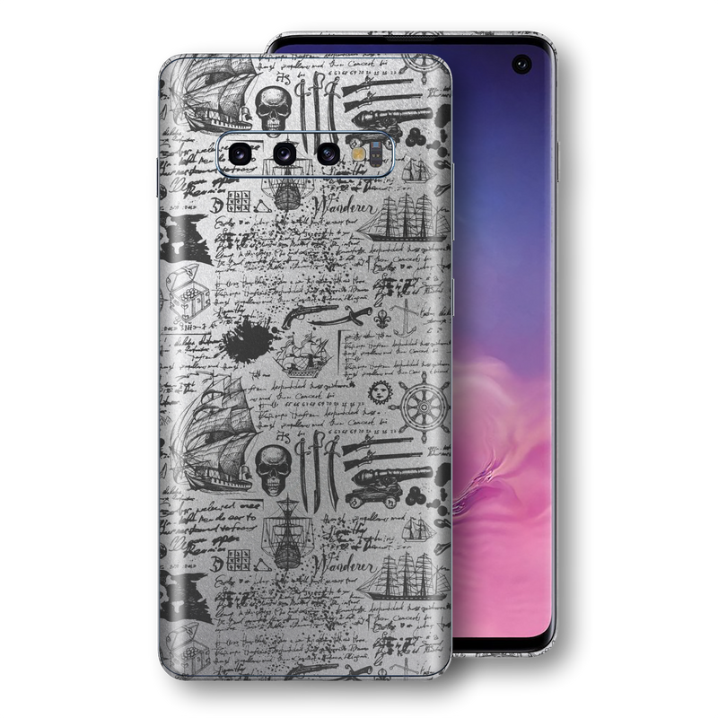 Samsung Galaxy S10 Signature Jolly Roger Skin, Wrap, Decal, Protector, Cover by EasySkinz | EasySkinz.com