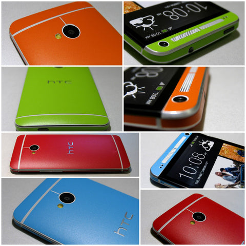 HTC ONE M7 COLORFUL MATT Finish FULL BODY Vinyl Wrap Decal Sticker Skin