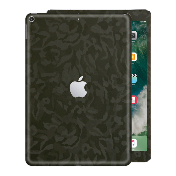 iPad 9.7 inch 2017 Luxuria Green 3D Textured Camo Camouflage Skin Wrap Decal Protector | EasySkinz