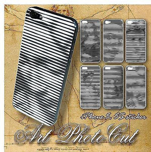ART Photo Cut Skin for iPhone 5S and 5