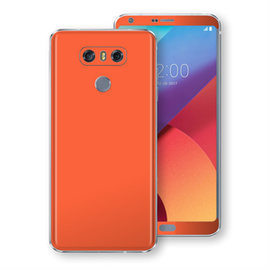 LG G6 Gloss Glossy Coral Skin, Decal, Wrap, Protector, Cover by EasySkinz | EasySkinz.com