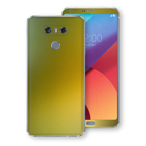LG G6 Chameleon NEPHRITE-GOLD Colour-Changing Skin, Decal, Wrap, Protector, Cover by EasySkinz | EasySkinz.com