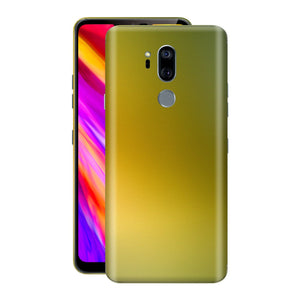 LG G7 ThinQ Chameleon NEPHRITE-GOLD Skin Wrap Decal Cover by EasySkinz