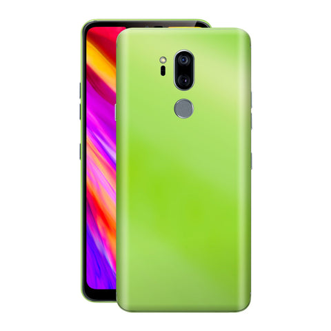 LG G7 ThinQ Apple Green Pearl Gloss Finish Skin Wrap Decal Cover by EasySkinz