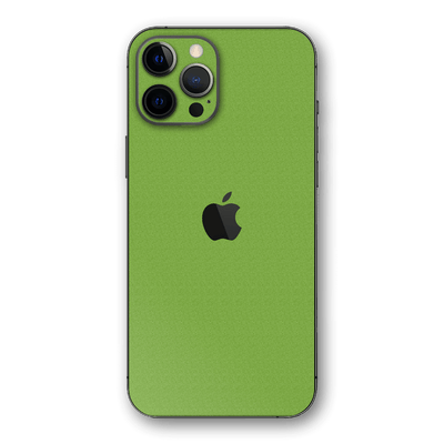 iPhone 12 Pro MAX Luxuria Lime Green 3D Textured Skin Wrap Sticker Decal Cover Protector by EasySkinz