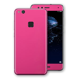 Huawei P10 LITE Magenta Glossy Gloss Finish Skin, Decal, Wrap, Protector, Cover by EasySkinz | EasySkinz.com