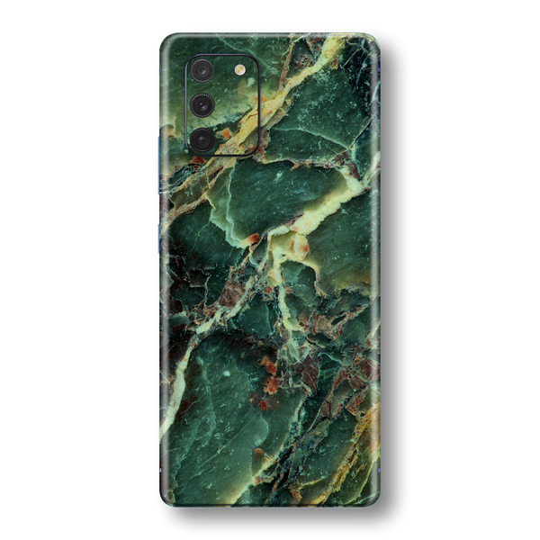 Samsung Galaxy S10 LITE Print Printed Custom SIGNATURE MARBLE GREEN Skin Wrap Sticker Decal Cover Protector by EasySkinz