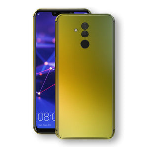 Huawei MATE 20 LITE Chameleon NEPHRITE-GOLD Skin Wrap Decal Cover by EasySkinz