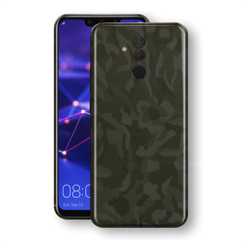 Huawei MATE 20 LITE Green Camo Camouflage 3D Textured Skin Wrap Decal Protector | EasySkinz