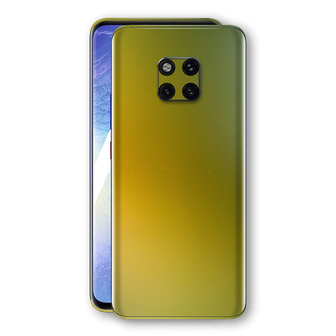 Huawei MATE 20 PRO Chameleon NEPHRITE-GOLD Skin Wrap Decal Cover by EasySkinz