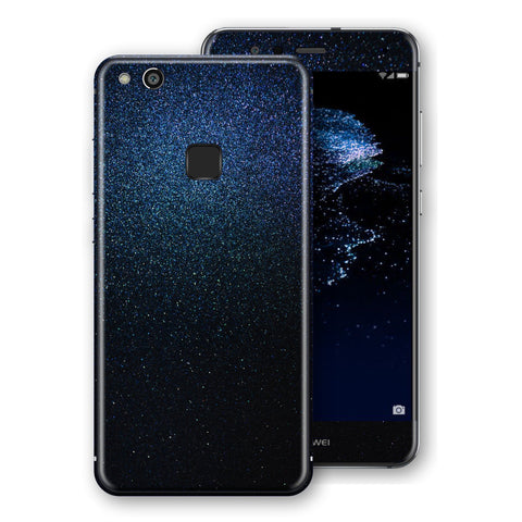 Huawei P10 LITE Glossy Midnight Blue Metallic Skin, Decal, Wrap, Protector, Cover by EasySkinz | EasySkinz.com