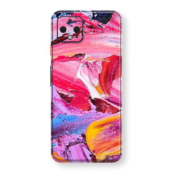 Google Pixel 4 Print Custom SIGNATURE MULTICOLOURED Oil Painting Skin, Wrap, Decal, Protector, Cover by EasySkinz | EasySkinz.com