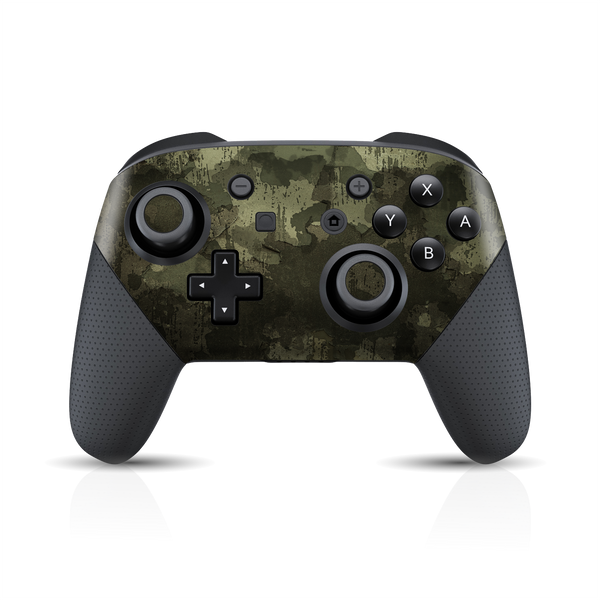 Nintendo Switch Pro Controller Print Printed Custom SIGNATURE MURAL CAMO Skin Wrap Sticker Decal Cover Protector by EasySkinz
