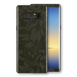 Samsung Galaxy NOTE 8 Green Camo Camouflage 3D Textured Skin Wrap Decal Protector | EasySkinz