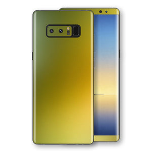Samsung Galaxy NOTE 8 Chameleon NEPHRITE-GOLD Colour-Changing Skin, Decal, Wrap, Protector, Cover by EasySkinz | EasySkinz.com