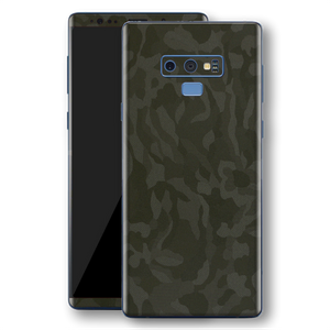 Samsung Galaxy NOTE 9 Green Camo Camouflage 3D Textured Skin Wrap Decal Protector | EasySkinz