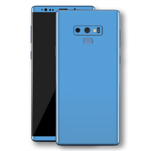 Samsung Galaxy NOTE 9 SKY BLUE Glossy Gloss Finish Skin, Decal, Wrap, Protector, Cover by EasySkinz | EasySkinz.com