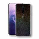 OnePlus 7 PRO Glossy GALAXY Black Milky Way Rainbow Sparkling Metallic Skin Wrap Sticker Decal Cover Protector by EasySkinz