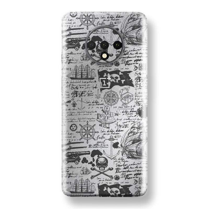 OnePlus 7T Print Custom SIGNATURE Jolly Roger Skin, Wrap, Decal, Protector, Cover by EasySkinz | EasySkinz.com