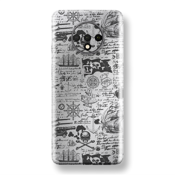 Oneplus 7t Signature Jolly Roger Skin Wrap Decal Easyskinz