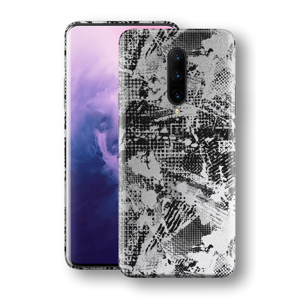 OnePlus 7T PRO Print Printed Custom SIGNATURE Abstract Grunge Skin, Wrap, Decal, Protector, Cover by EasySkinz | EasySkinz.com