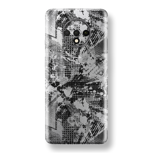 OnePlus 7T Print Custom SIGNATURE Abstract Grunge Skin, Wrap, Decal, Protector, Cover by EasySkinz | EasySkinz.com