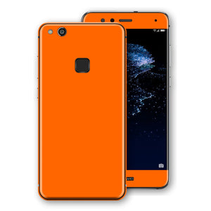 Huawei P10 LITE Orange Glossy Gloss Finish Skin, Decal, Wrap, Protector, Cover by EasySkinz | EasySkinz.com