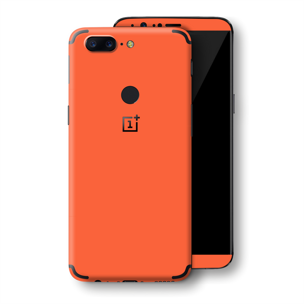 OnePlus 5T CORAL Glossy Gloss Finish Skin, Decal, Wrap, Protector, Cover by EasySkinz | EasySkinz.com