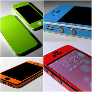 COLORFUL MATT Finish Skin for iPhone 5S 5 4 4S