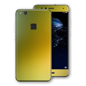 Huawei P10 LITE Chameleon NEPHRITE-GOLD Colour-Changing Skin, Decal, Wrap, Protector, Cover by EasySkinz | EasySkinz.com