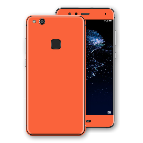 Huawei P10 LITE CORAL Gloss Glossy Skin, Decal, Wrap, Protector, Cover by EasySkinz | EasySkinz.com