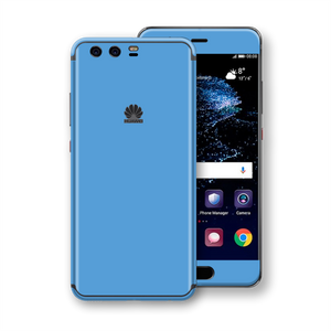 Huawei P10+ PLUS Light BLUE Gloss Glossy Skin, Decal, Wrap, Protector, Cover by EasySkinz | EasySkinz.com