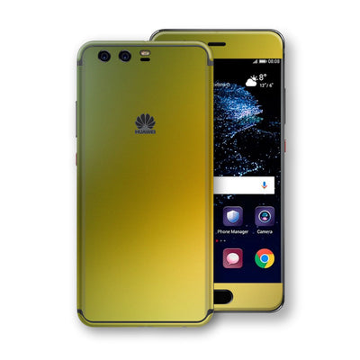Huawei P10  Chameleon NEPHRITE-GOLD Colour-Changing Skin, Decal, Wrap, Protector, Cover by EasySkinz | EasySkinz.com