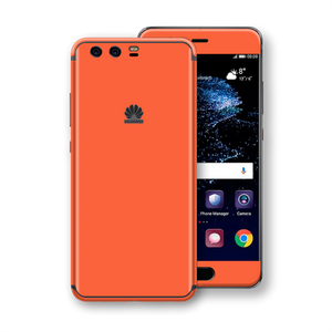 Huawei P10+ PLUS CORAL Gloss Glossy Skin, Decal, Wrap, Protector, Cover by EasySkinz | EasySkinz.com