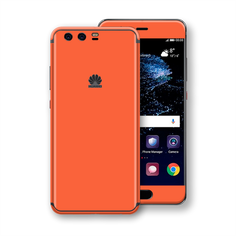 Huawei P10 Coral Gloss Glossy Skin, Decal, Wrap, Protector, Cover by EasySkinz | EasySkinz.com