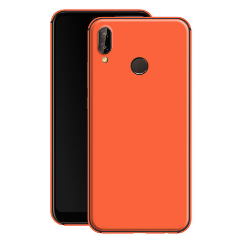 Huawei P20 LITE CORAL Gloss Glossy Skin, Decal, Wrap, Protector, Cover by EasySkinz | EasySkinz.com